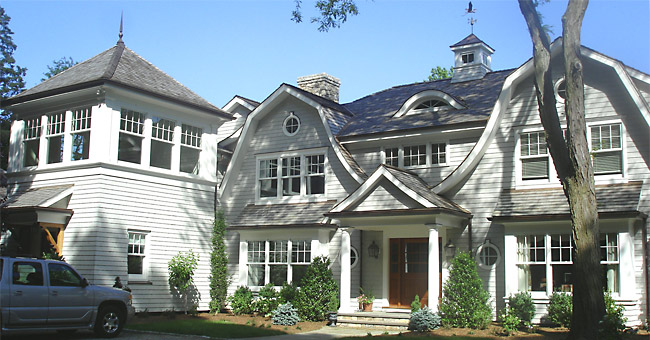 Photo of a Shingle Addition/Renovation project in Darien, CT
