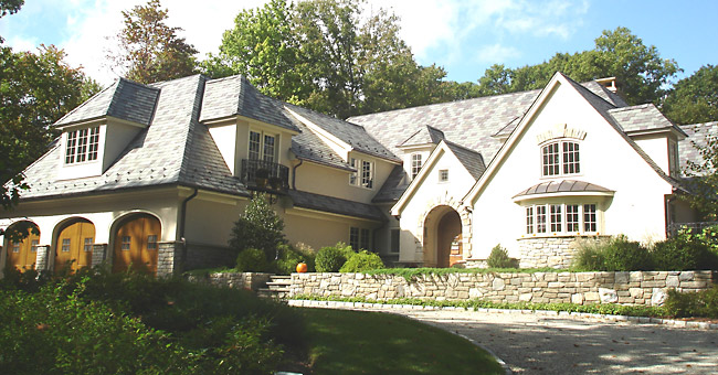 Photo of a French Country Addition/Renovation project in New Canaan, CT